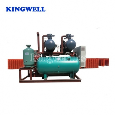 KW-B120 (120tons/day) Spiral Coil-pipe Block Ice Machine